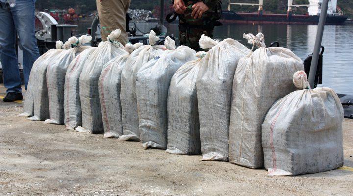 Coast Guard intercepts 600 kilo Cocaine close to Bonaire