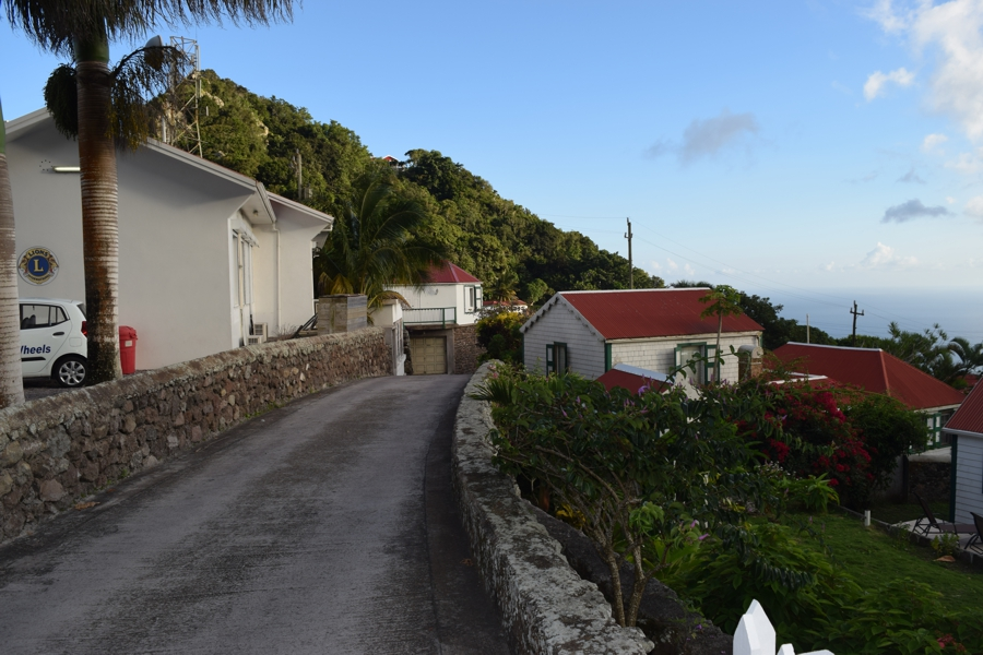 houses on Saba
