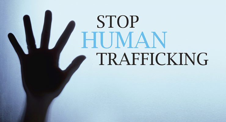 Worldwide day against Human Trafficking