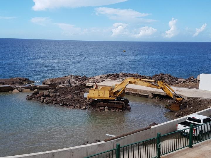 restoration Fort Bay Harbour