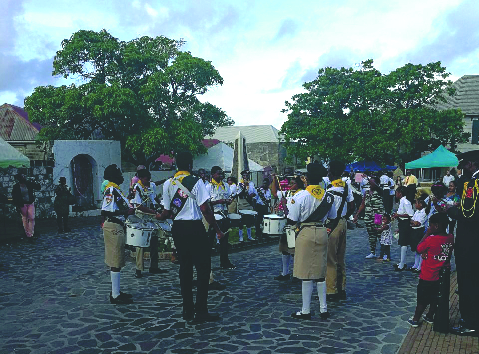 Statia Day 2017: different location, but as colorful as always