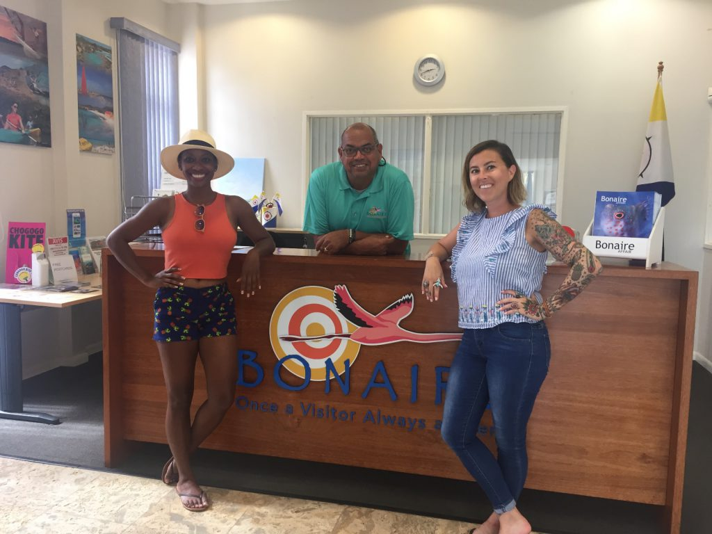 US Travel writers visit Bonaire on advanced diving trip