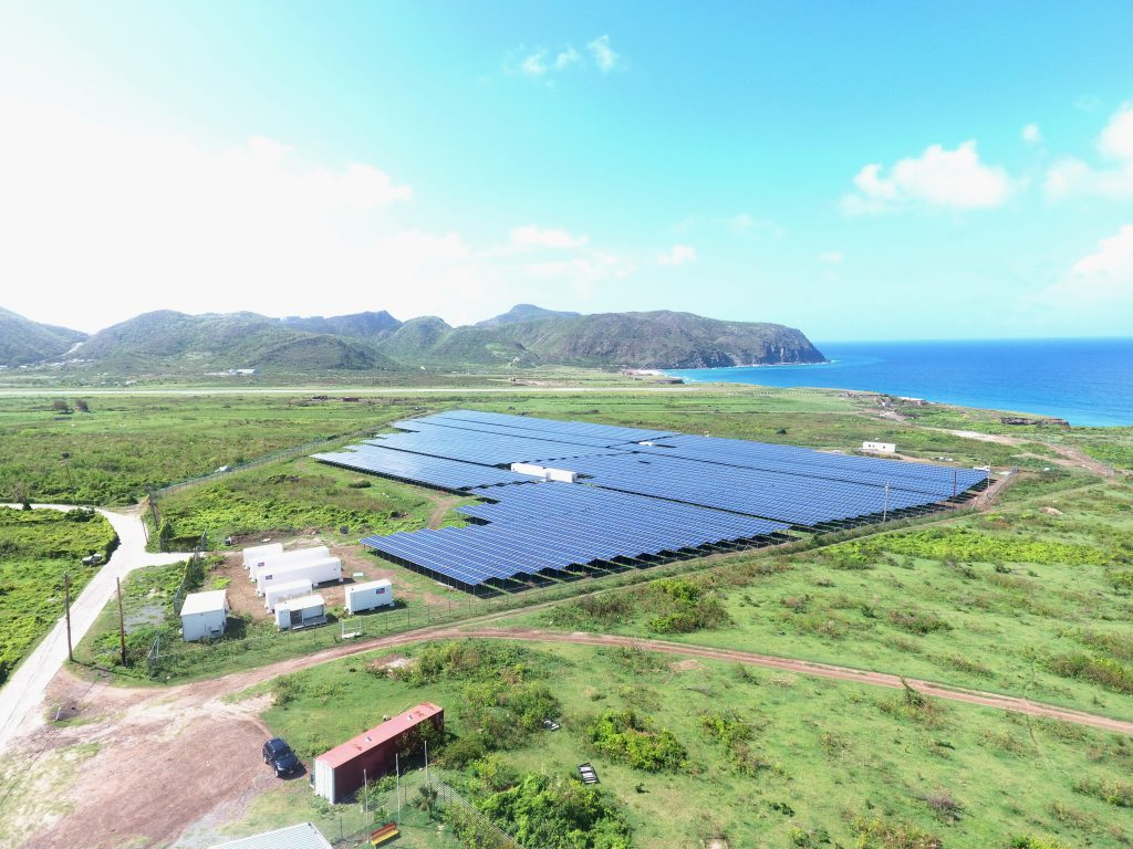 New Solar Park supplies entire Statia with electricity