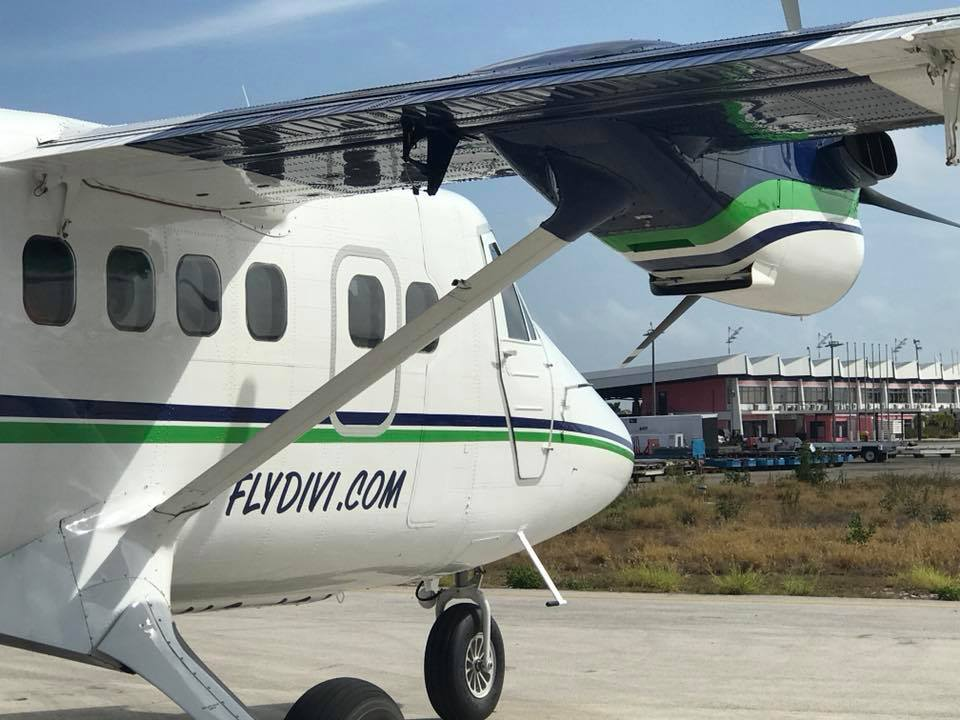 Divi Divi Air trains Bonaire ground-crew on new Twinotter plane