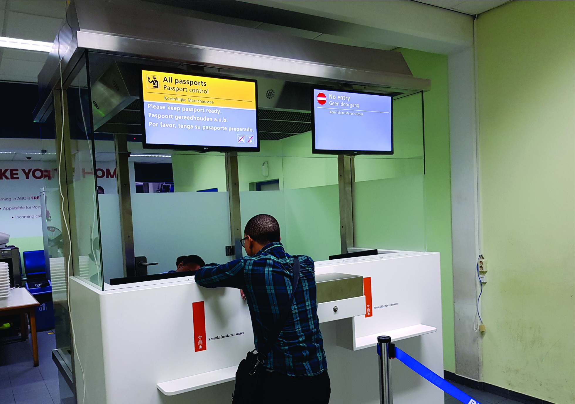 New immigration counters at BIA
