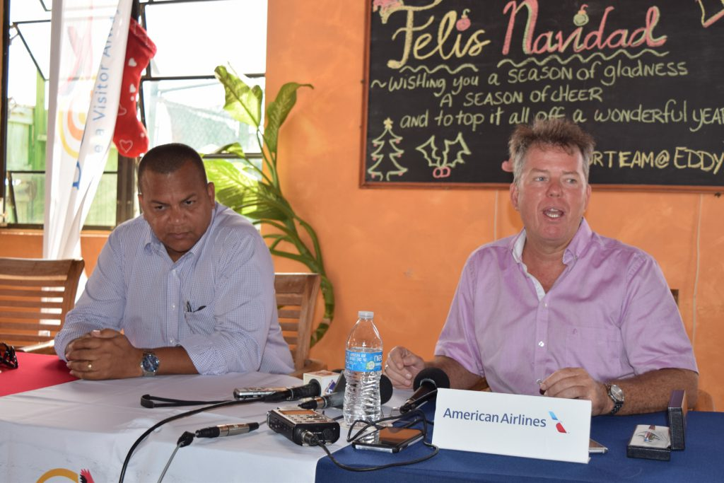 Adriaens (TCB): Daily AA flights to Bonaire ultimate goal