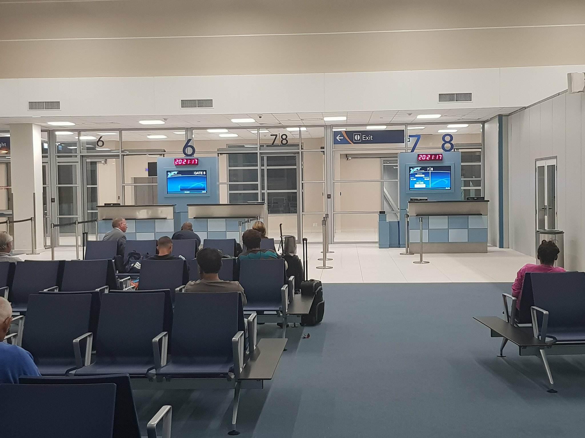 New boarding area Hato