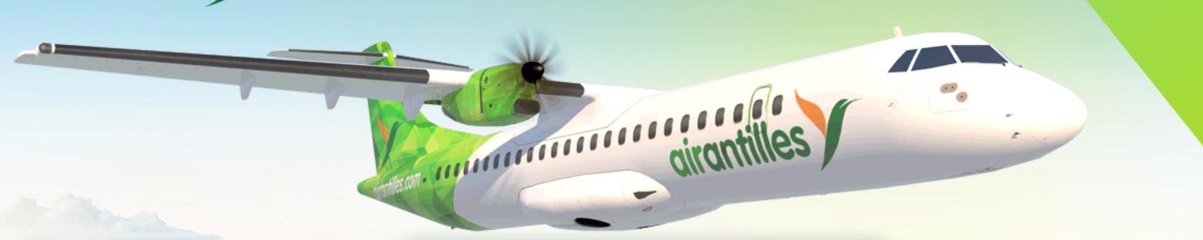 Air Antilles plane
