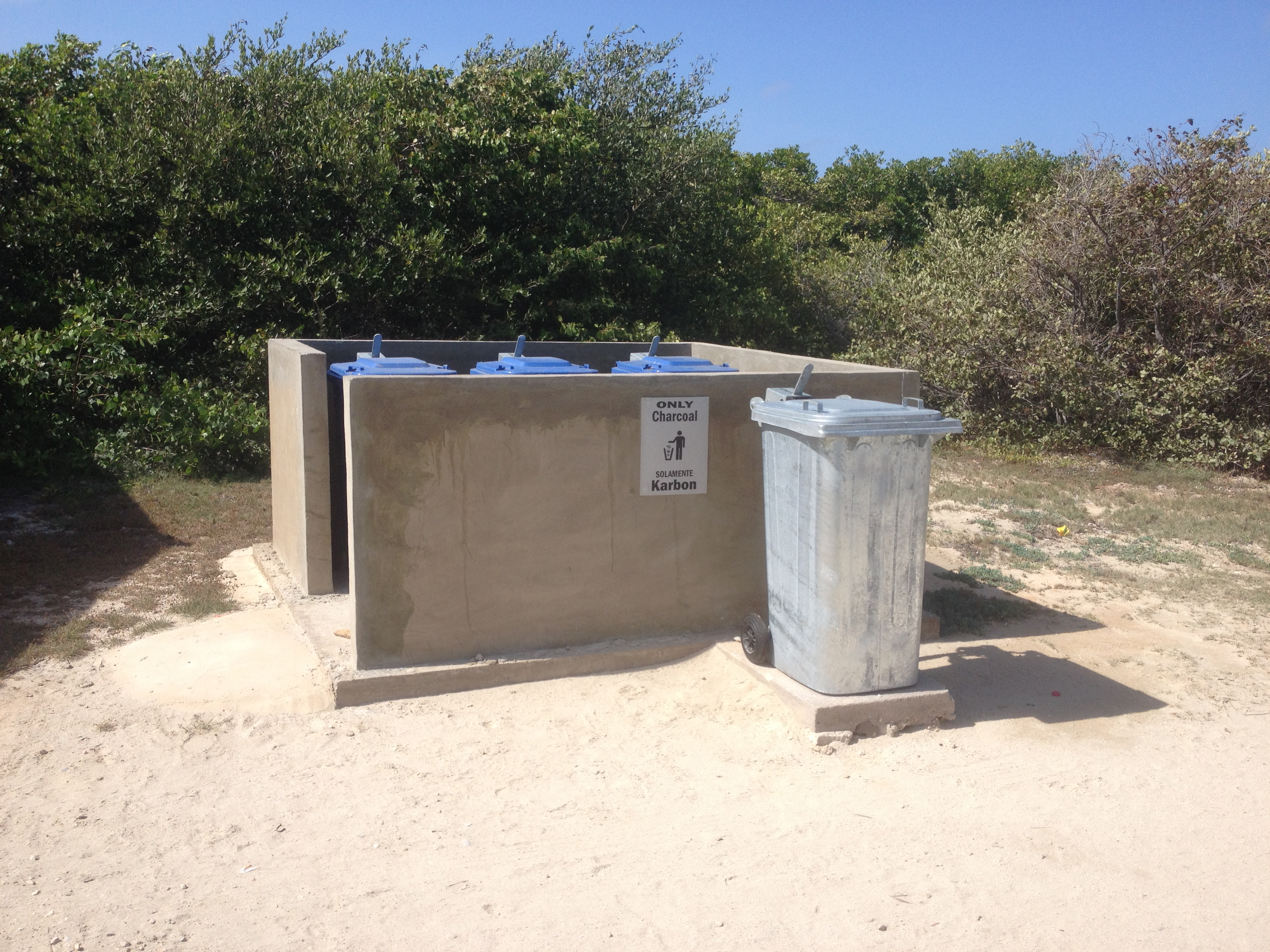 better garbage facilities at local beaches