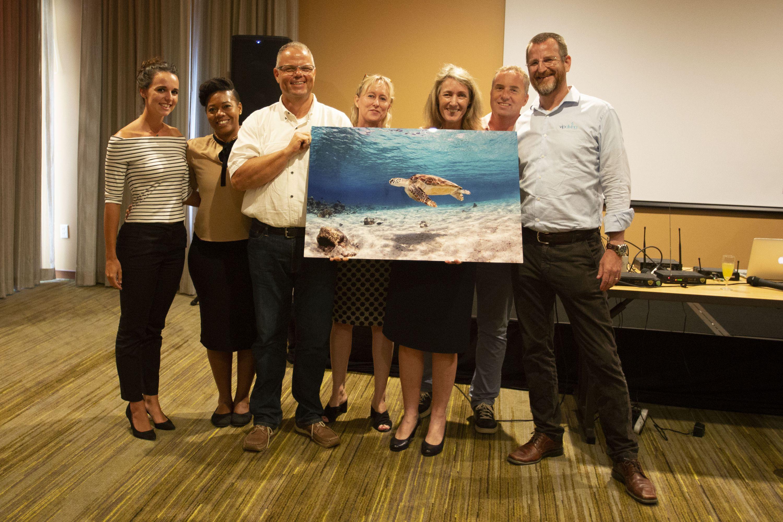 BONHATA board + staff at Farewell party Irene