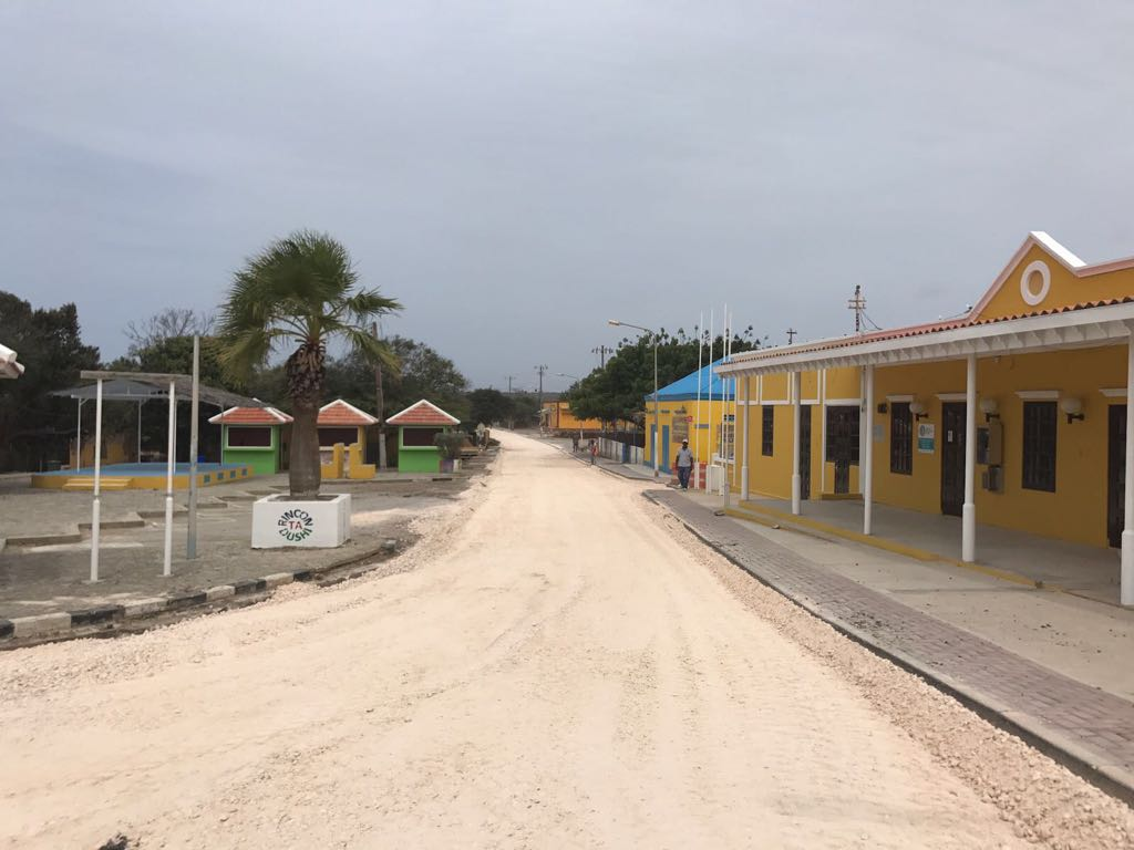 Road reconstruction in Rincon