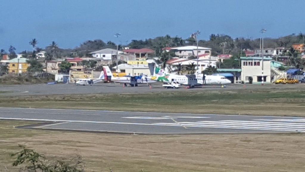 Statia's FDR Airport Getting Busier