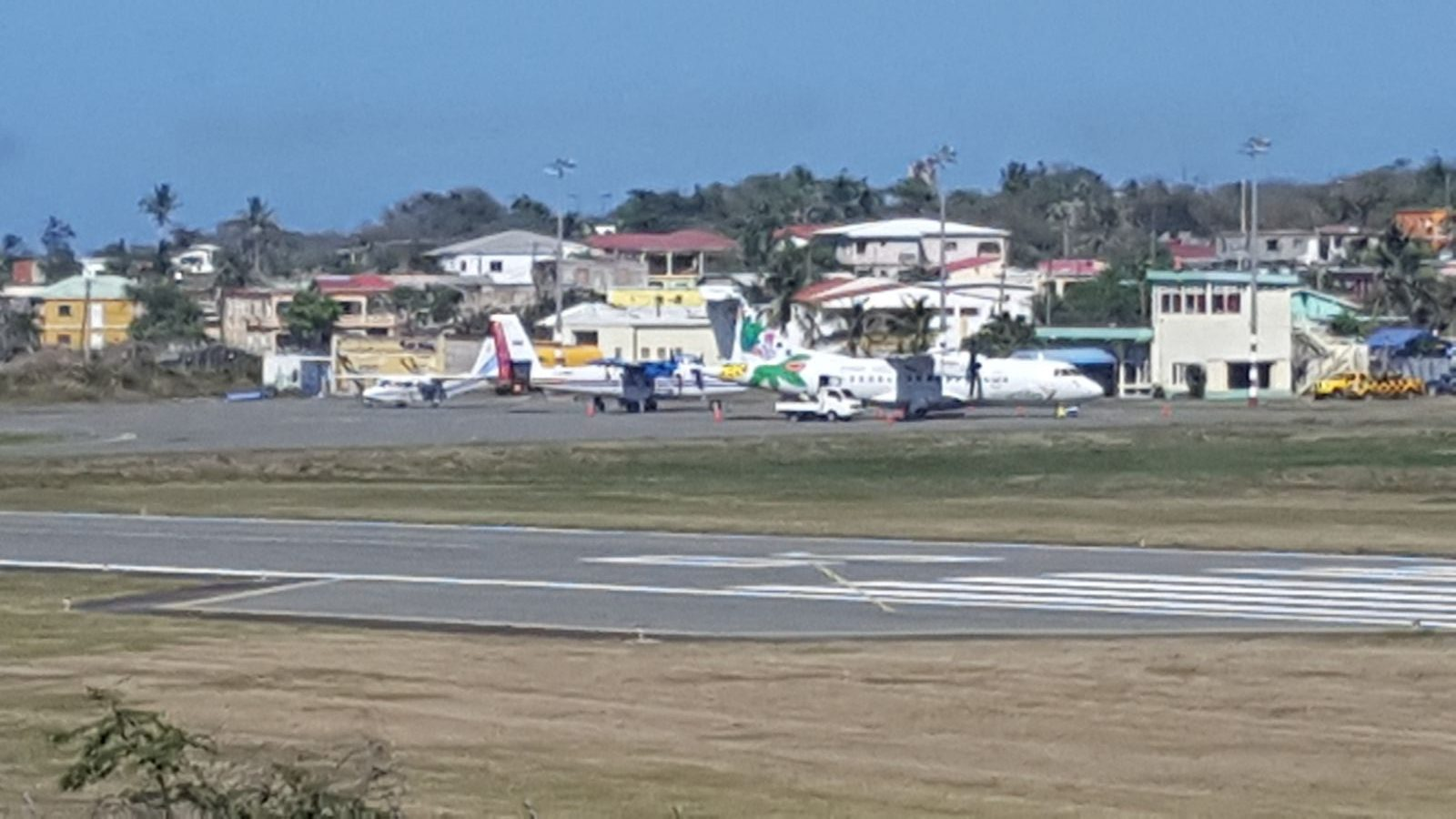 Statia Airport April 27th 2018