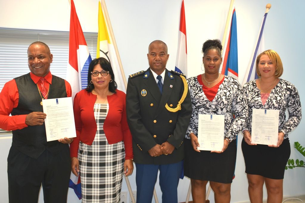 Education Officers Sworn in As Extraordinary Police