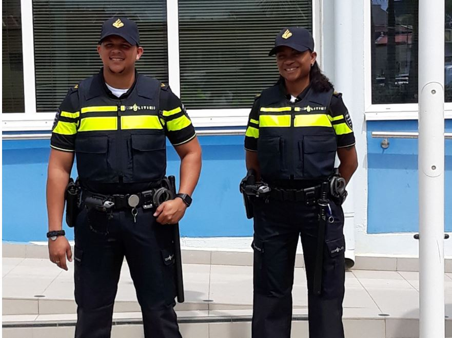 New Uniforms for Police Force BES