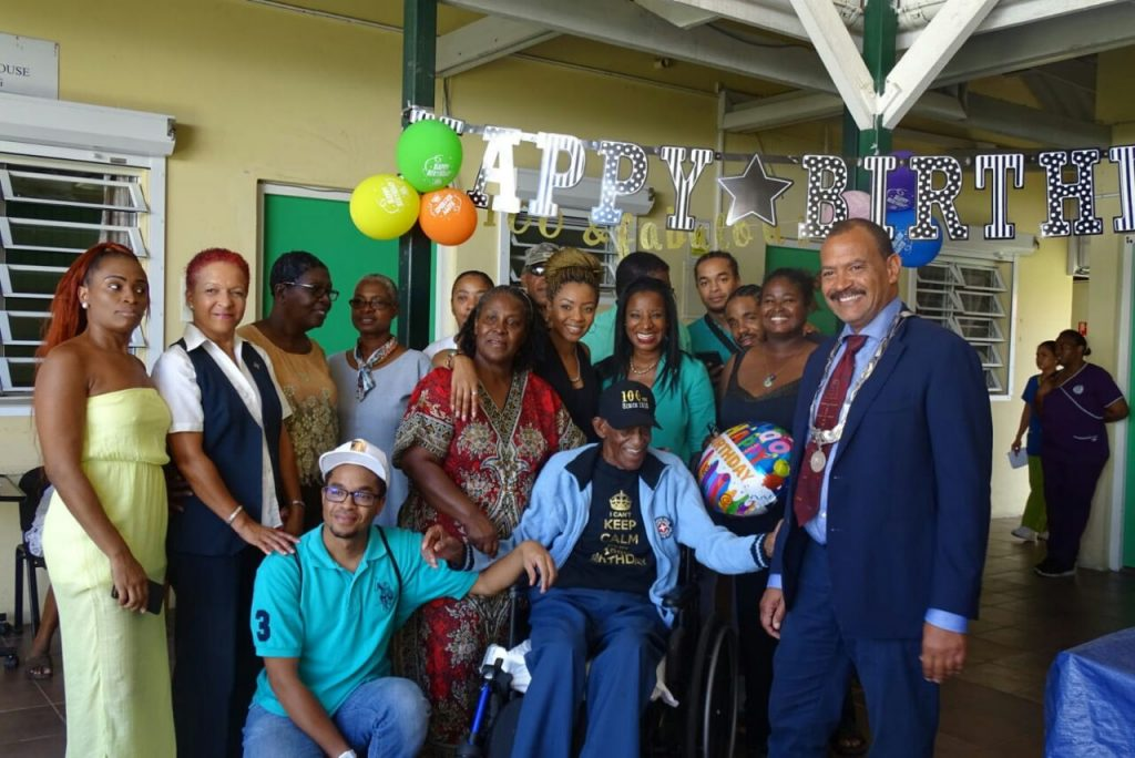 William Euson Celebrated 100 Years of Age on St. Eustatius