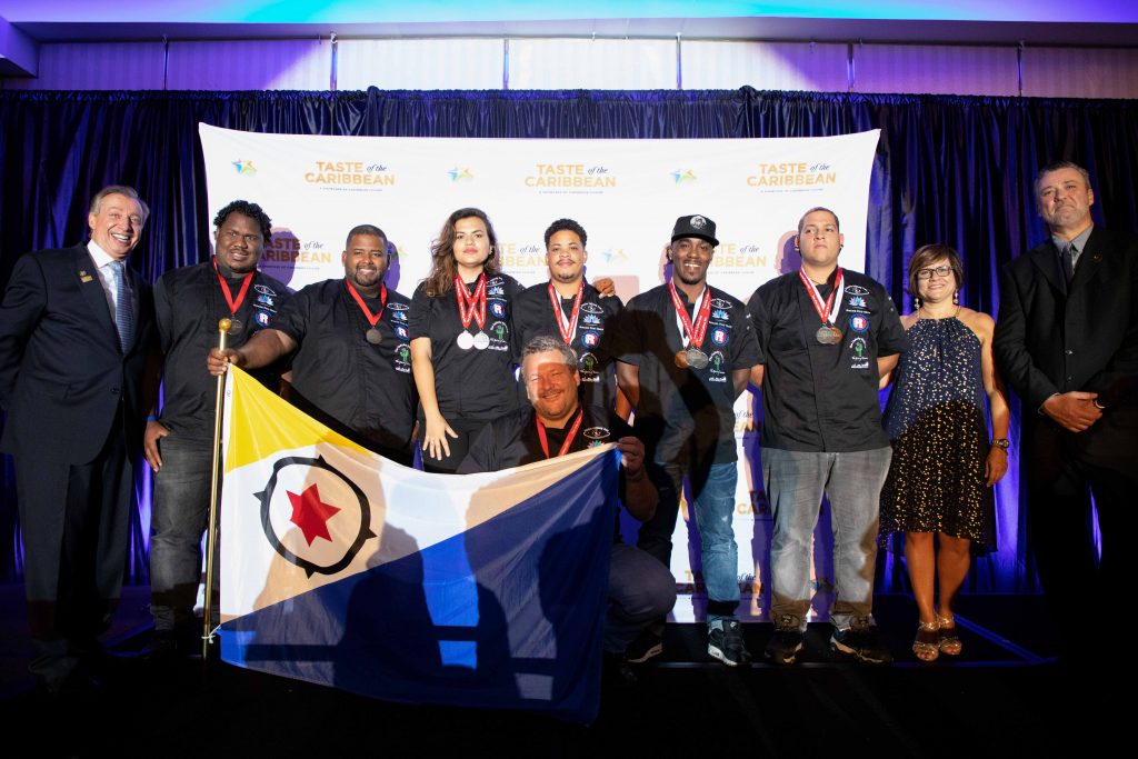 Bonaire Culinary Team brings home 7 medals