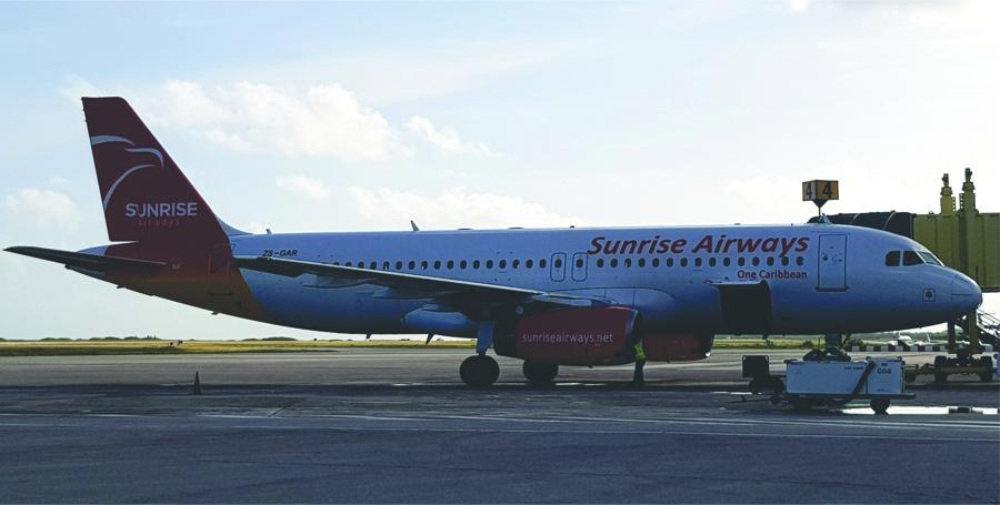 Sunrise Airways foto Harald Linkels