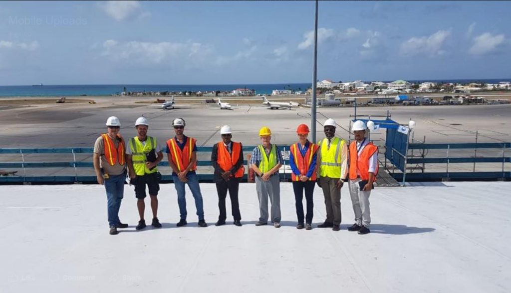 Phase One of Sint Maarten Airport Roof Repair Completed