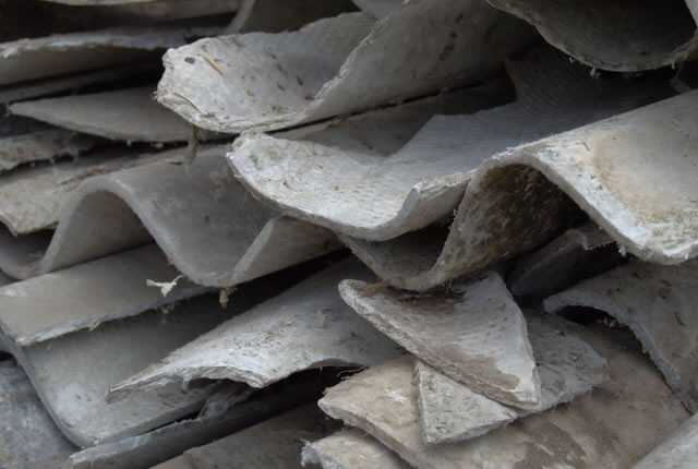 asbest daken
