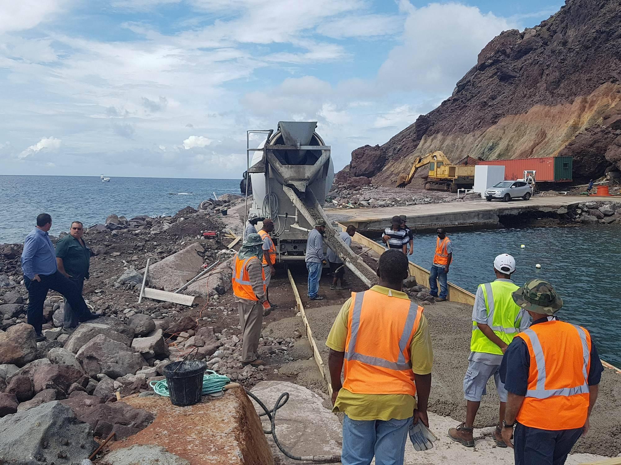 emergency repairs pier saba
