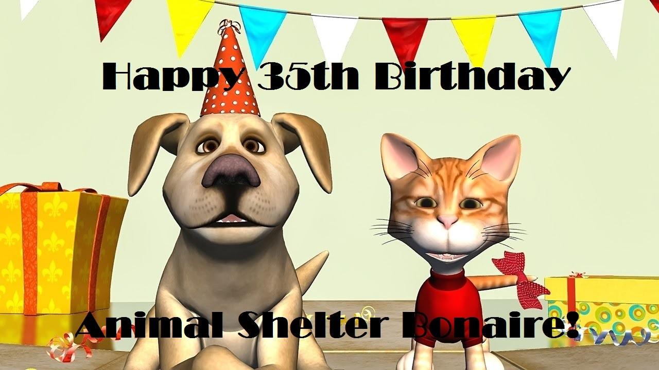 Animal Shelter Bonaire 35th birthday celebration
