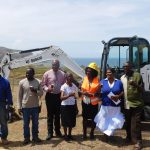 Ground Breaking for Statia SDA School Expansion project