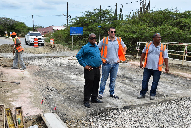 Kroon satisfied with road repairs