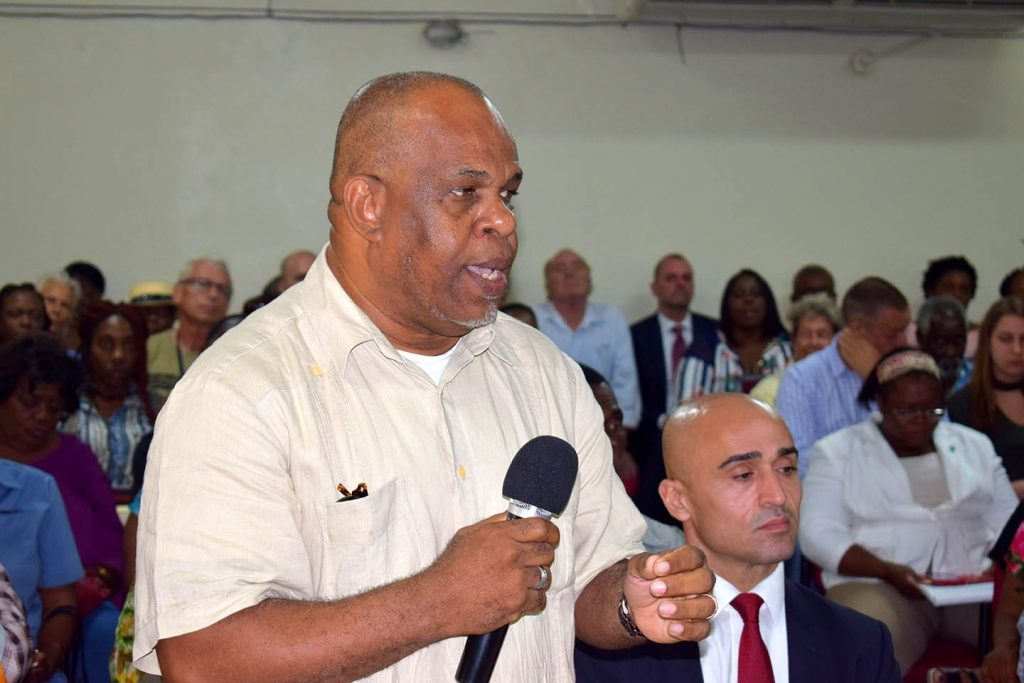 Ousted Statia government files Court Case