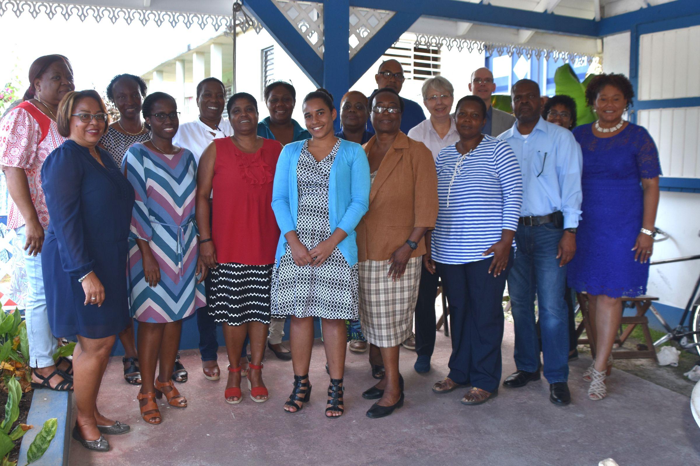 Foto deelnemers conferentie Arbeidsvoorwaarden Statia