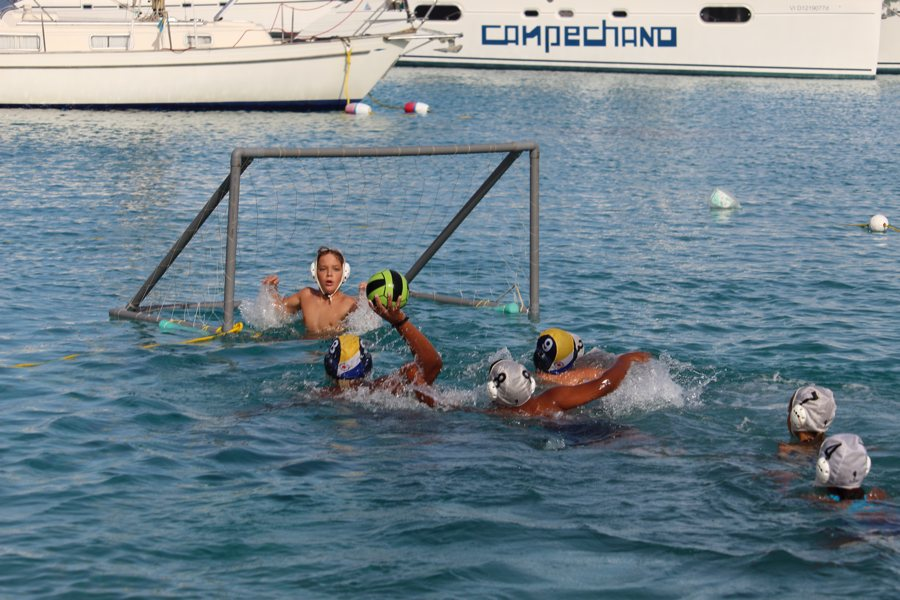 Water Polo at Club Nautico/ Swimmers To Aruba Dolphins