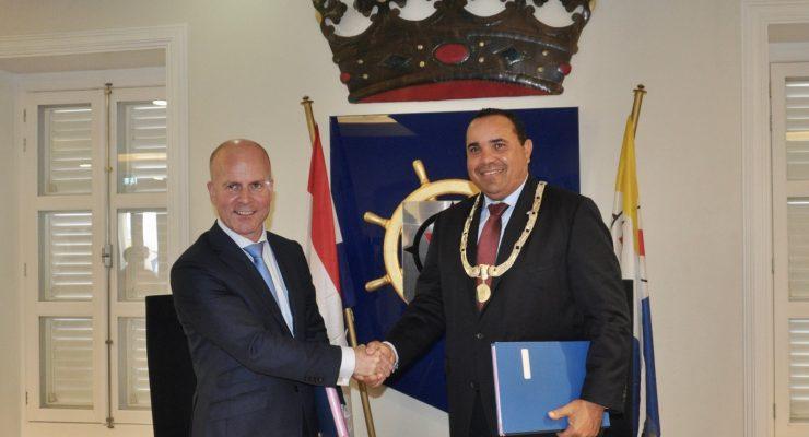 bestuursakkoord getekend 14 november 2018