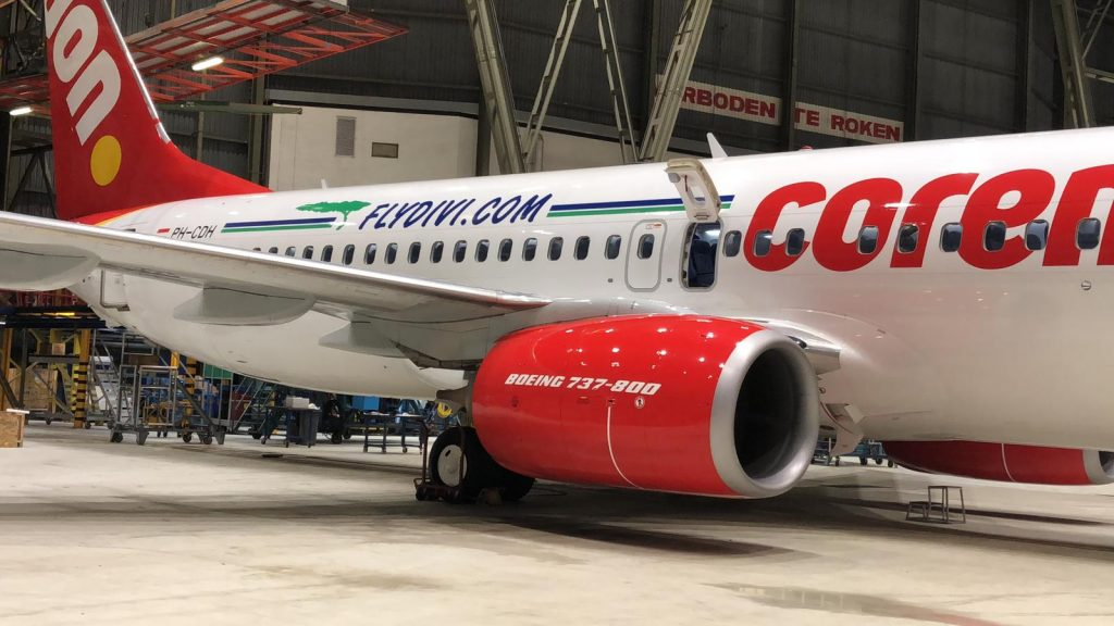 Boeing Divi and Corendon