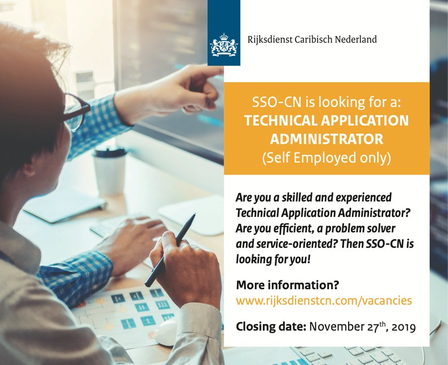 Vacancy Technical Application Administrator