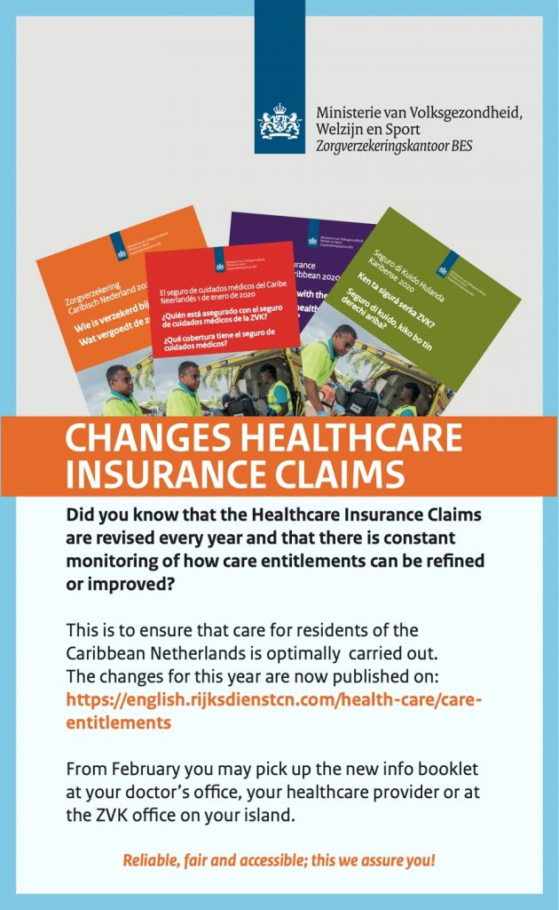 Changes in Healthcare insurance claims