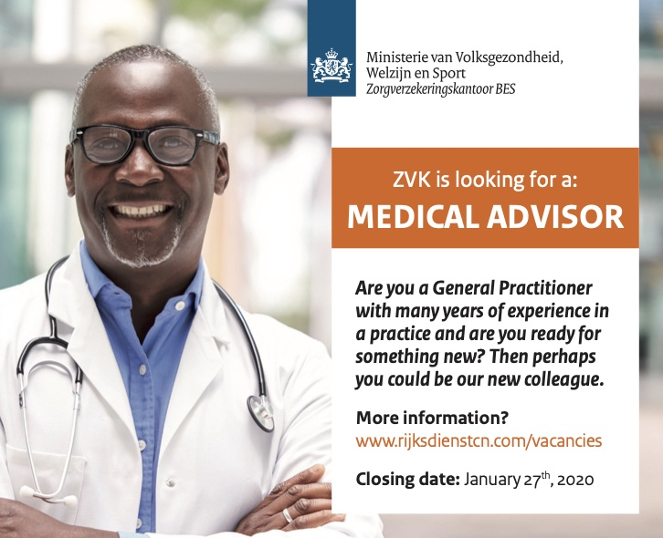 Vacancy Medical Advisor (ZVK)