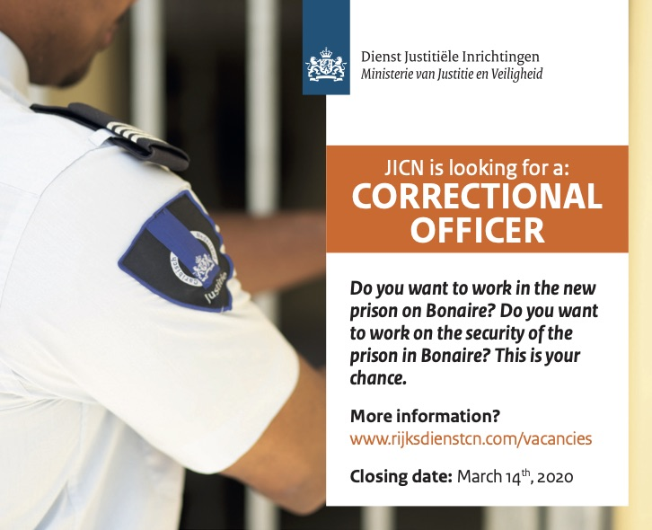 Vacancy Correctional Officer