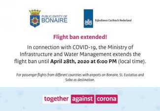 Flight ban extended
