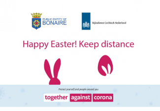 Easter days at a distance of 1.5 meters