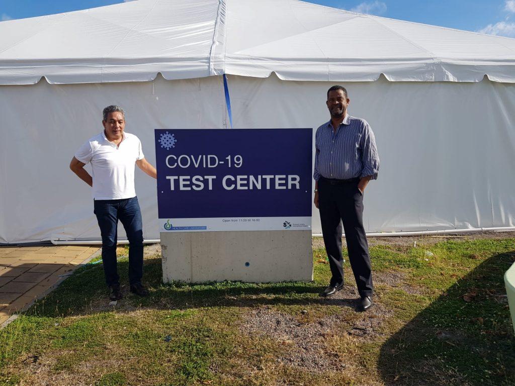 COVID-19 testing facility now open at Princess Juliana Airport