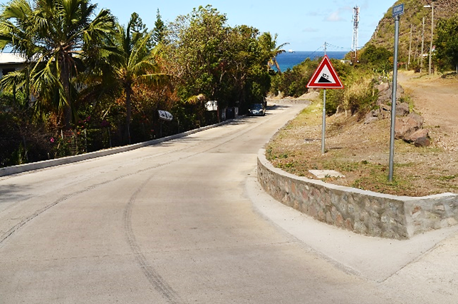 Final Work on Smoke Alley Statia will cause Delay in Traffic Flow
