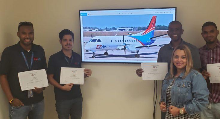 First EZ Air Pilots Starts Saab Simulator Training in Miami