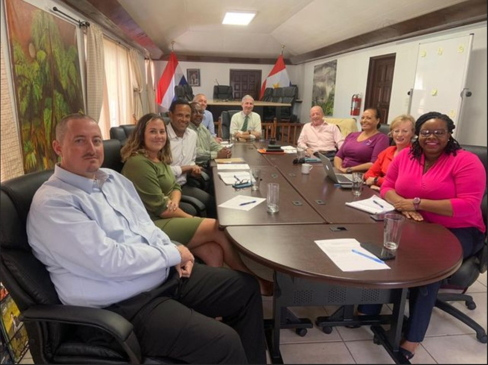Saba Business Association discusses entry policies and protocols with Executive Council