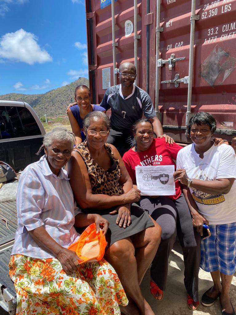 ADRA St. Eustatius with St. Vincent Donation Drive