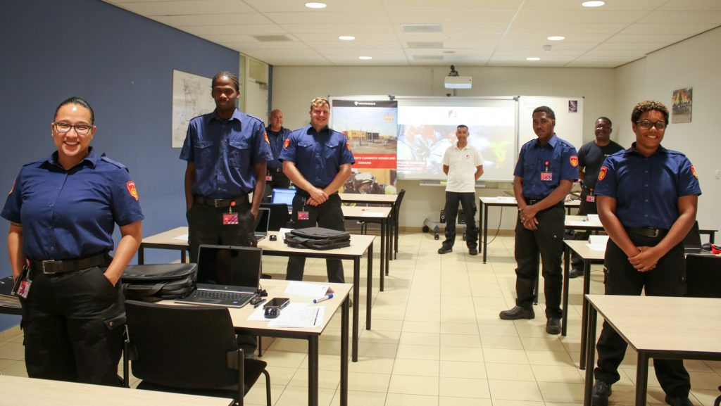 Firefighter training has started on Bonaire