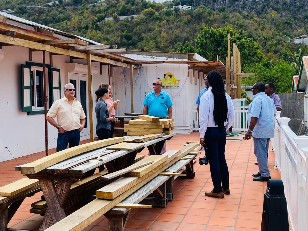 Saba's Recreational Facilities discussed at Retreat