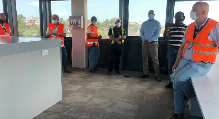Keys to New Airport Statia Handed Over