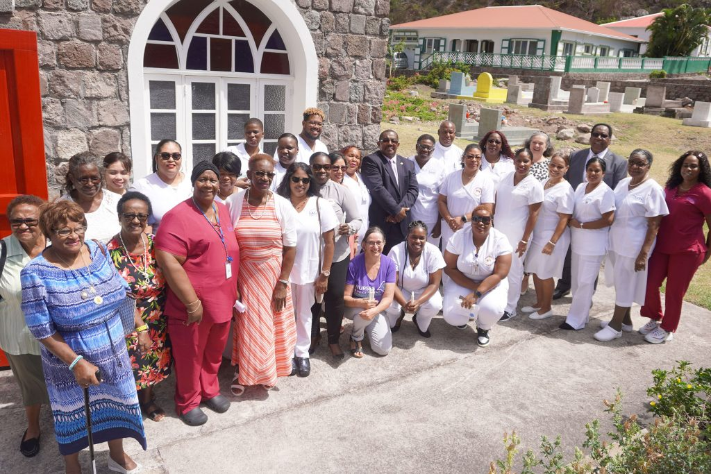 Saba Nurses Thanked and Honored at Church Service