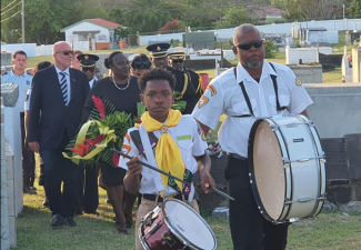 Solemn Memorial Day Ceremony held in St. Eustatius