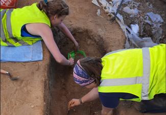 18th-century Burial Ground found during Excavation in St. Eustatius